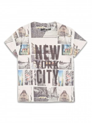 T-Shirt z nadrukiem New York