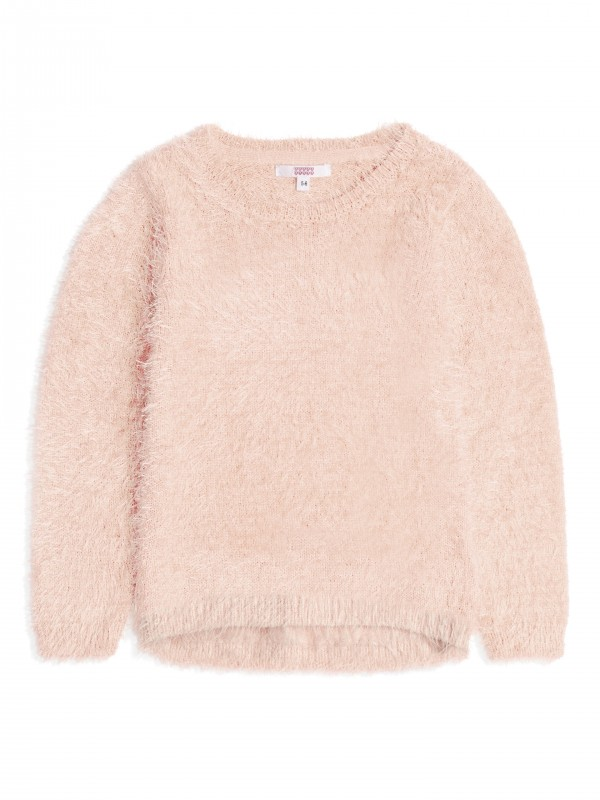 Puszysty sweter firmy Sugar Squad, kolor Light Pink