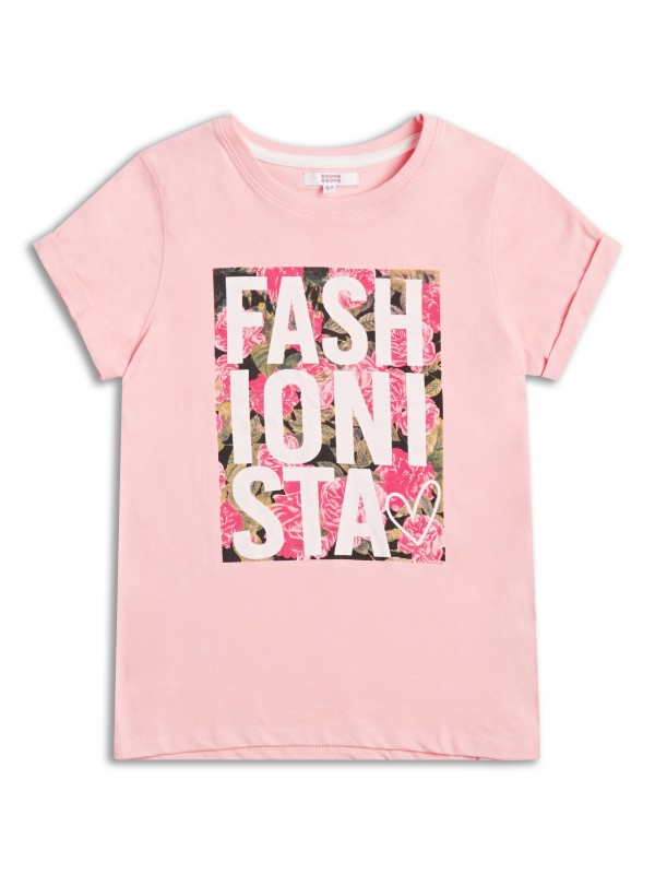 T-shirt firmy Sugar Squad, kolor Light Pink