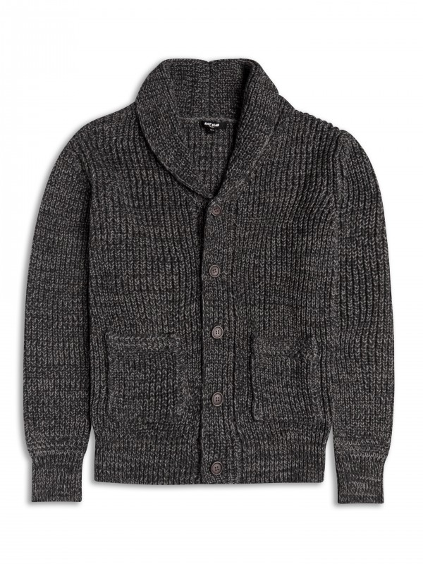 Kardigan firmy Riot Club, kolor Dark Grey